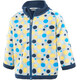 Color Kids Tugo Mini 2 Face Fleece - Veste Enfant - jaune/bleu